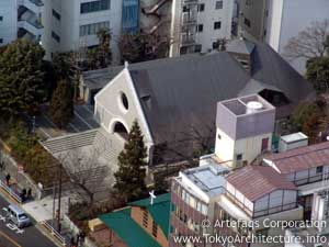 Saint Andrew's Cathedral in Tokyo, Kanto