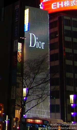 Christian Dior Ginza Building in Tokyo, Kanto