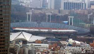 Photo of National Stadium in Tokyo, Kanto