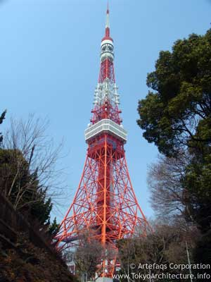 Tokyo Tower in Tokyo, Kanto
