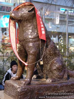 Photo of Hachiko Statue in Tokyo, Kanto