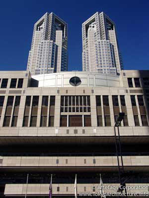 Photo of Tokyo Metropolitan Government Aseembly Hall in Tokyo, Kanto