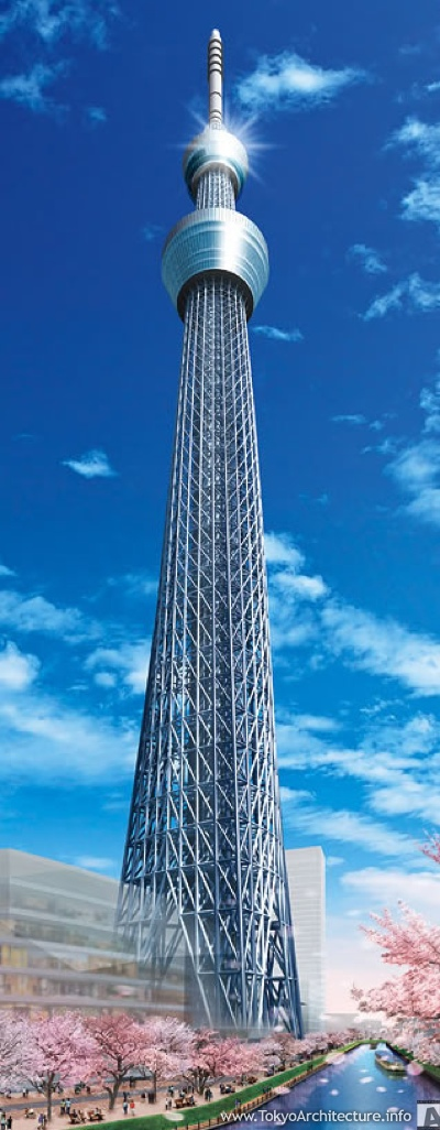 Photograph of Tokyo Skytree